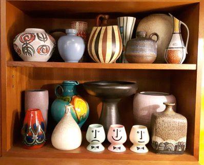 various midcentury ceramics
