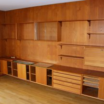cado royal shelving system teak