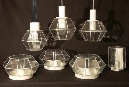 limburg diamond lamps 70s