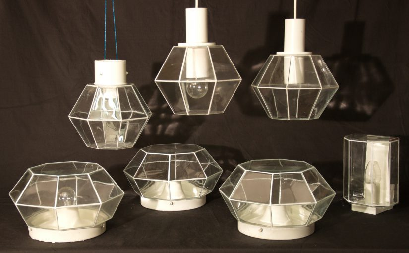limburg diamond lamps 70s
