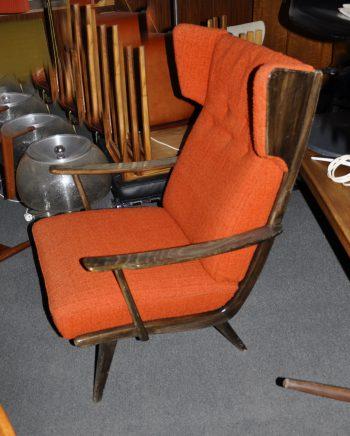 50s ohrenbackensessel originalzustand