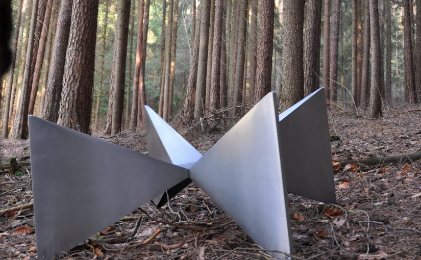 cast aluminium 70s coffee-table