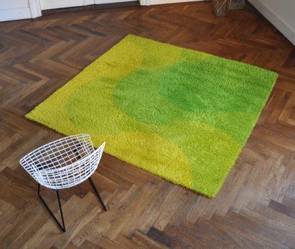 dänischer 60er jahre teppich 'greens'