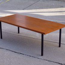 rectengular teak coffee-table