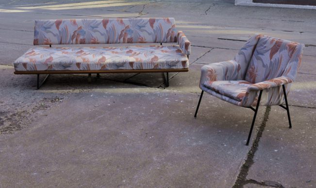 50er jahre walter knoll sofa & sessel design rolf grunow