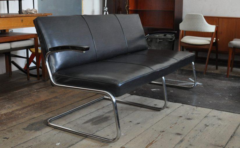 stahlrohr freischwinger sofa