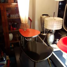 50s blumenetagere/lampe