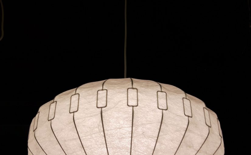60s cocoon lamp