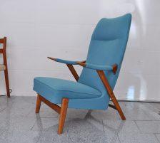lounge-sessel dänemark, teak, 50er jahre