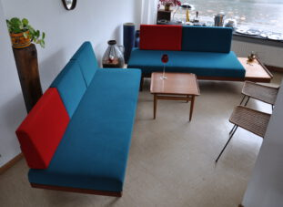 2x sofa/daybed 'svanette', ingmar relling, norway