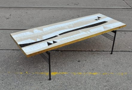 50s mosaik coffee-table berthold müller