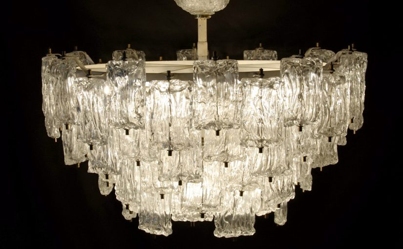barovier & toso chandelier