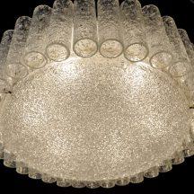 doria 'kristallspitzen' deckenleuchte