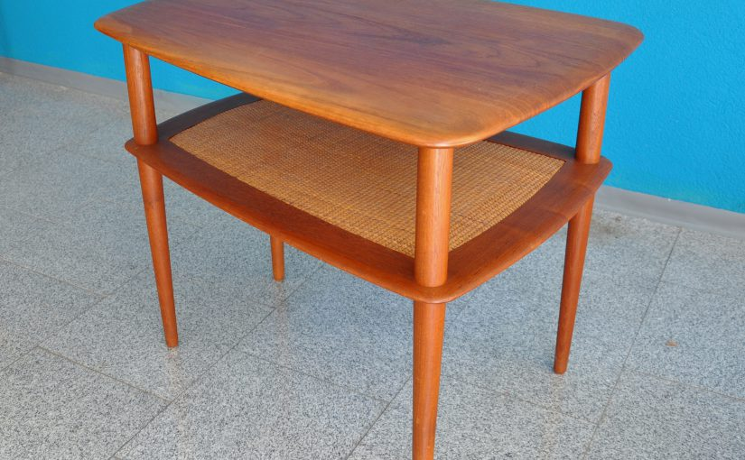 hvidt side-table in teak france & sons
