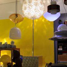 60s capiz floor-lamp, rausch germany