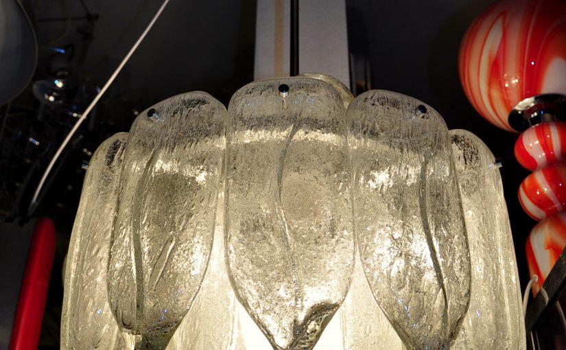 5x doria eiszapfenleuchter, 60er