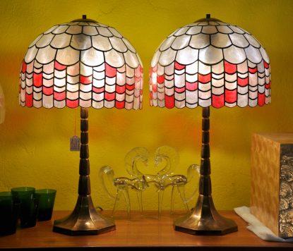 60/70s palmtreelamps