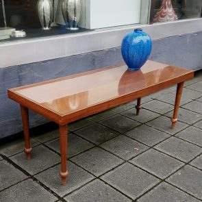 60s coffee-table, glasstop