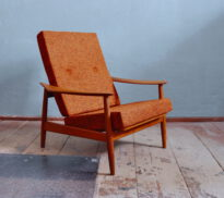 arne vodder lounge-chair fd164