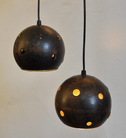 copper globes raak, nanny still