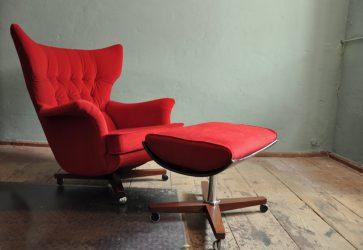 g-plan lounge-chair mod. 6250