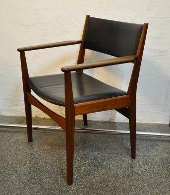 rare h.olsen teak armchair