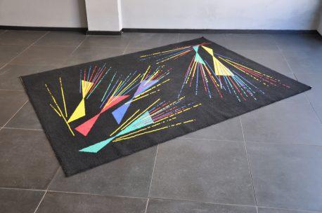 50er jahre teppich
