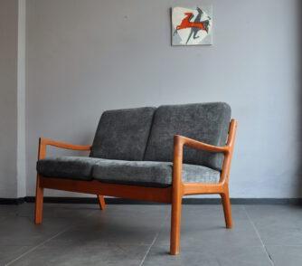 ole wanscher cado 2er sofa teak