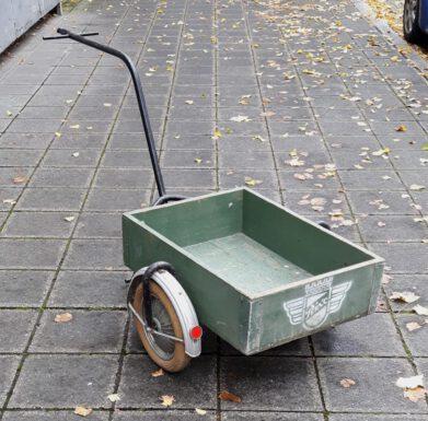 50er jahre fahrrad-anhänger 'rixe'