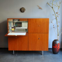 60s teak cabinet/bar/highboard