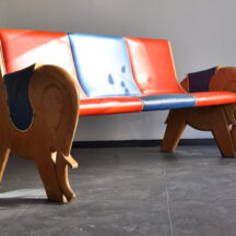 kinder sitzbank elefanten-schuh 50er